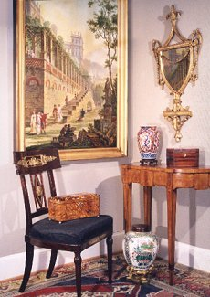 Welcome in. Browse Studio Antiques and Fine Art's period and antique furniture, fine art and decorative accessories.