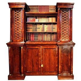 Important Collectors Cabinet by George Bullock